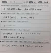 泉佐野市ゆうだい整骨院の股関節の痛み、産後骨盤矯正の患者様の口コミ